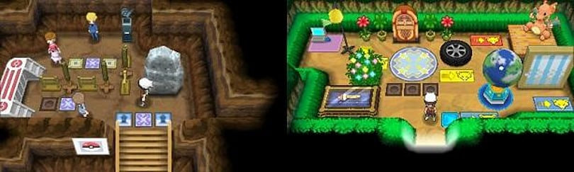 Become secret pals by visiting bases in Pokemon Ruby/Sapphire remakes