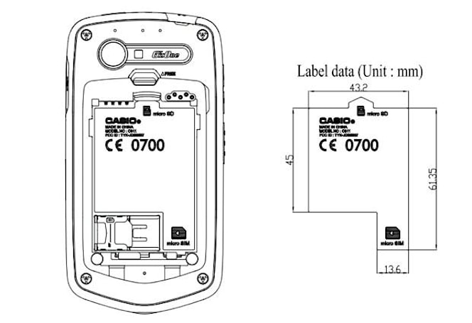 Next-gen Casio G'zOne makes it to the FCC, reveals LTE and NFC support