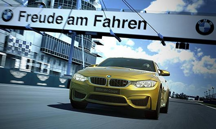 Drive the 2014 BMW M4 Coupe first in Gran Turismo 6