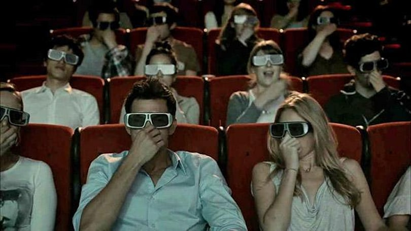 '4D' movies bring rain and snow inside the theater