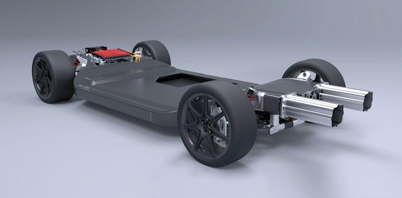 Williams redesigns the chassis for lighter and stronger EVs