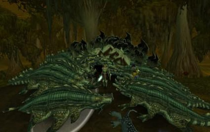Around Azeroth: The croc hunter triumphant