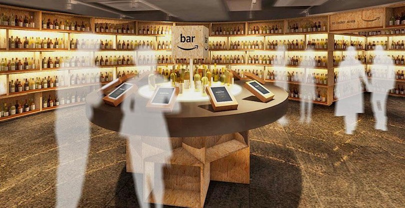 Amazon is opening a Tokyo pop-up bar to promote booze sales