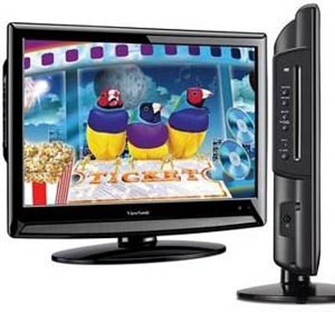 ViewSonic's 22-inch N2201w LCD TV packs inbuilt DVD player, TV tuner