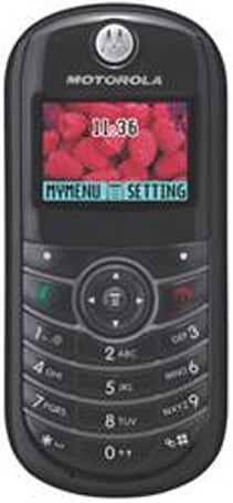 Motorola C139 offers low admission onto Cingular
