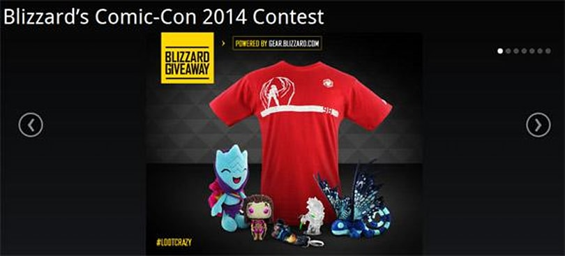 Enter to win exclusive Comic-Con prizes from Blizzard