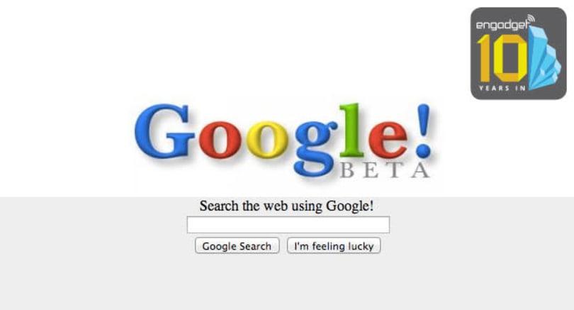 Google Search: A visual history