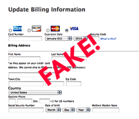 Phishing schemes targeting MobileMe users again