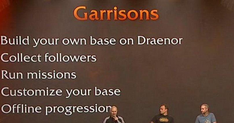 Garrisons: Player housing in Warlords of Draenor