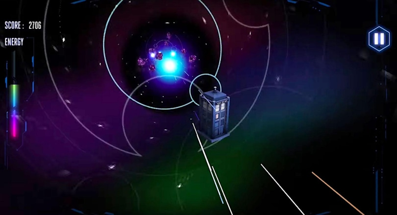 'Doctor Who Time Vortex VR' is an endless runner with a TARDIS