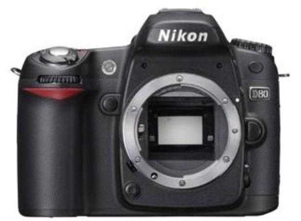 Nikon D80 pics revealed