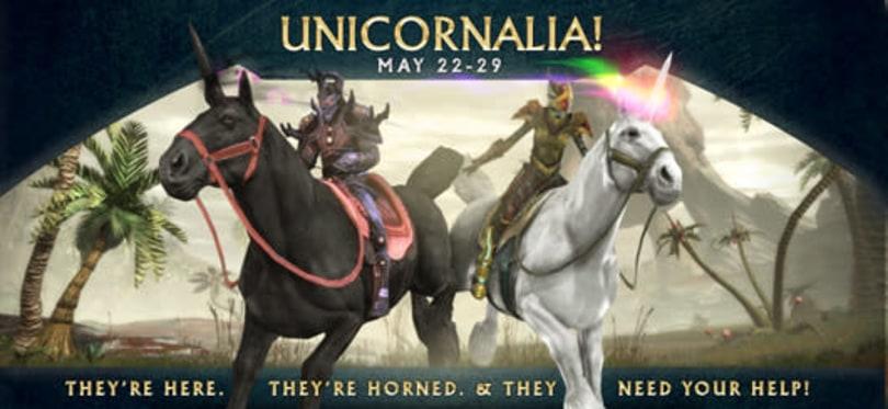 RIFT's Unicornalia event runs through May 29
