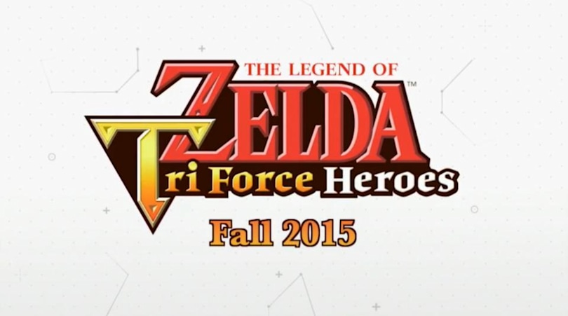 'Zelda: Tri Force Heroes' is a multiplayer action game for 3DS
