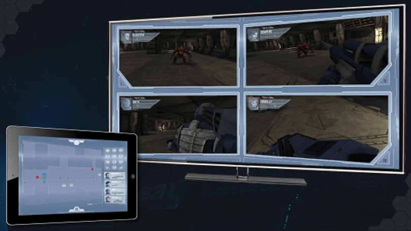 Sci-fi RTS Salvaged takes two screens to play on PC, tablet