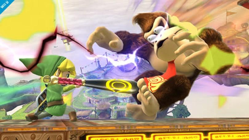 Link steps up to bat in new Super Smash Bros. screenshots