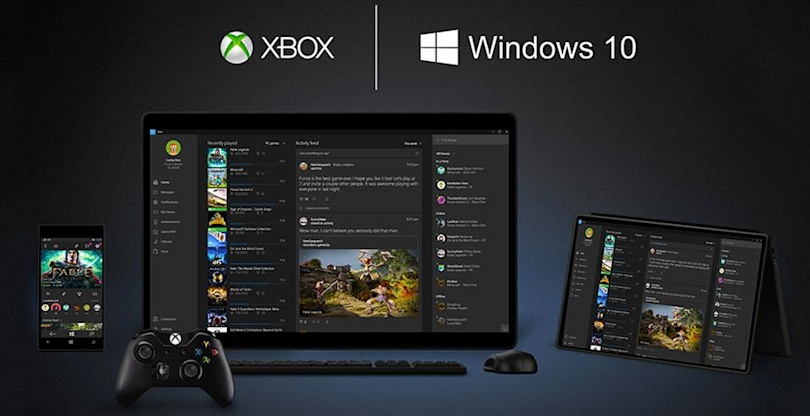 You can stream 'Forza' or 'Halo' from Xbox One to Windows 10