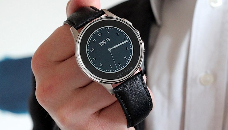Vector's smartwatch looks like a SkyMall reject, but isn't