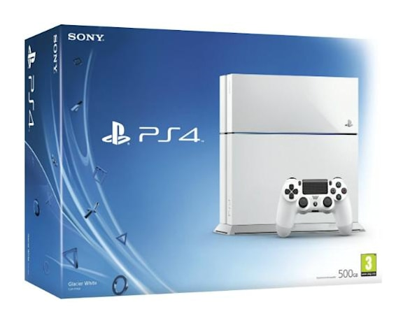Standalone white PS4 available in UK later this week