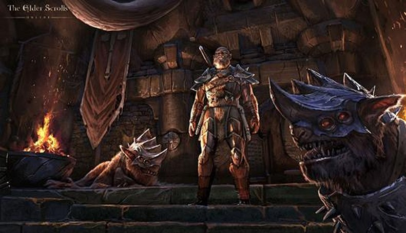 Elder Scrolls' fourth major update teased in new concept art