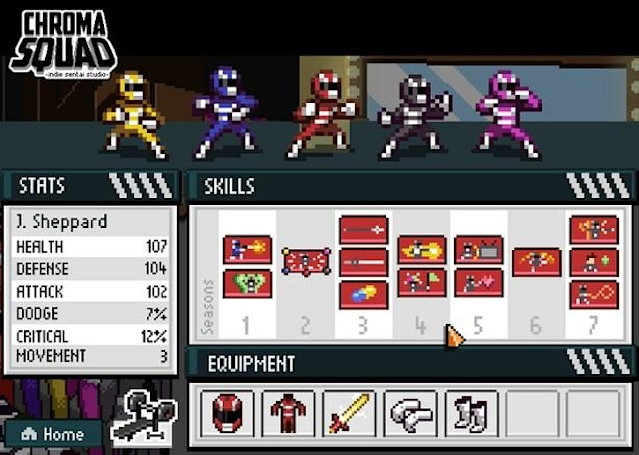Chroma Squad dev discussing ultimatum with Power Rangers owner [Update]