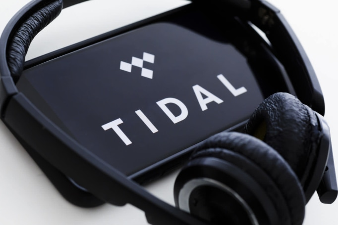 Tidal's interactive credits let you explore artists' other projects