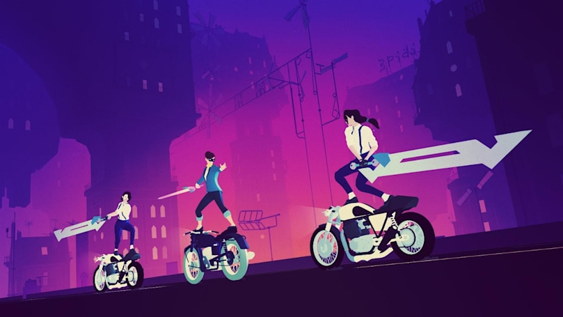 'Sayonara Wild Hearts' is a neon-filled 'pop album video game'