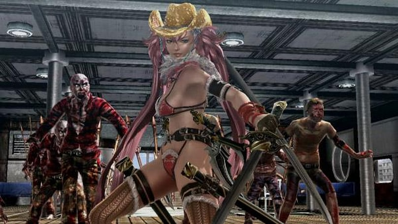 Onechanbara Z2: Chaos delivers 1080p bikinis to Japanese PS4s this year