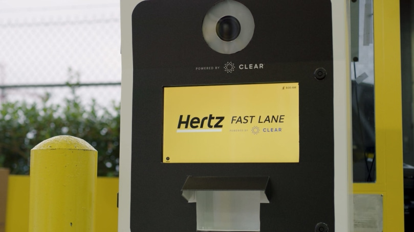 Hertz is using biometrics to speed up car rentals