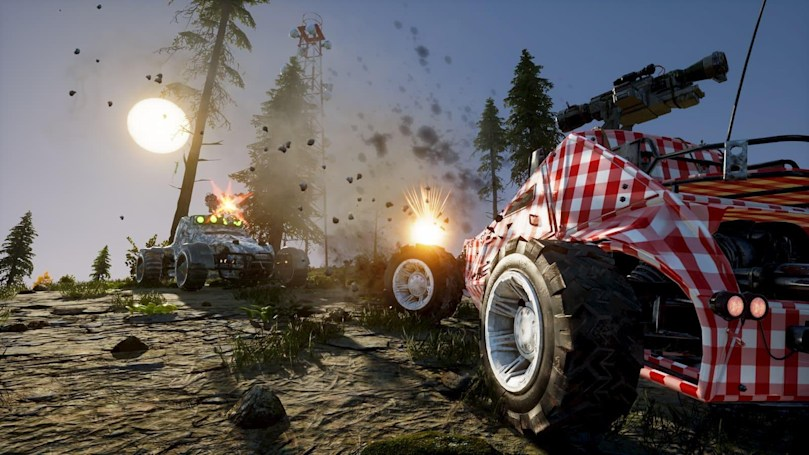 Vehicular battle royale 'Notmycar' hits Steam on April 5th