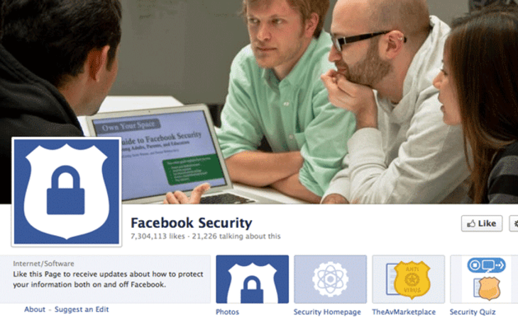Facebook helps you log back in with a little help from your Trusted Contacts