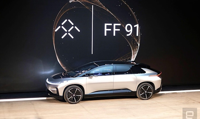 Faraday Future lawsuit claims former exec stole trade secrets