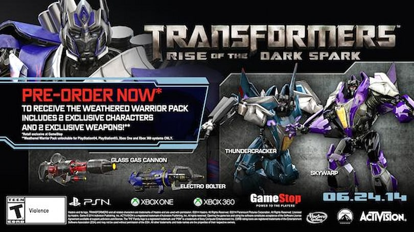 Transformers: Rise of the Dark Spark planned for June 24