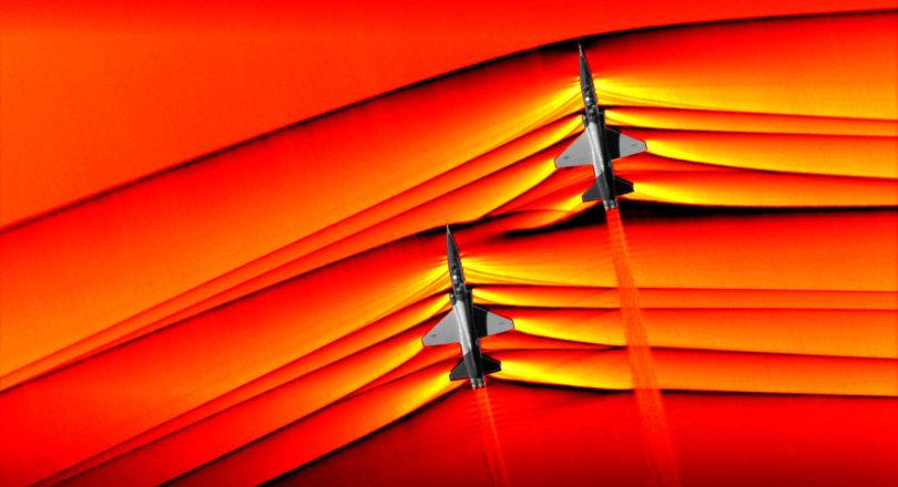 NASA unveils stunning images of merging supersonic shockwaves