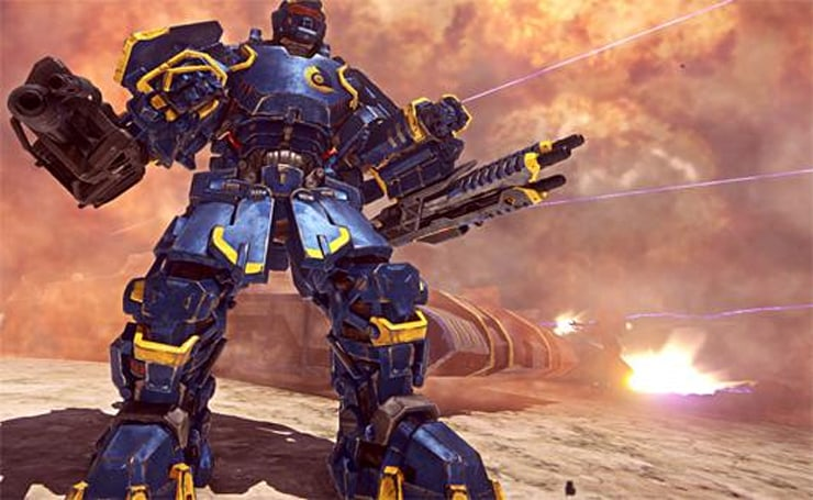 PlanetSide 2's Hossin update is live but not entirely done