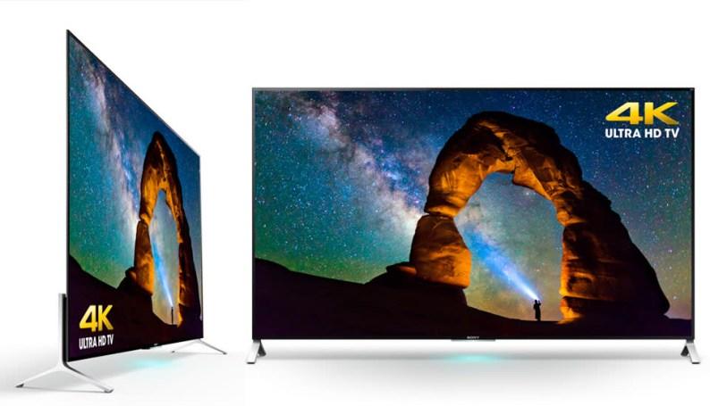 Sony's new TVs are thin... very thin