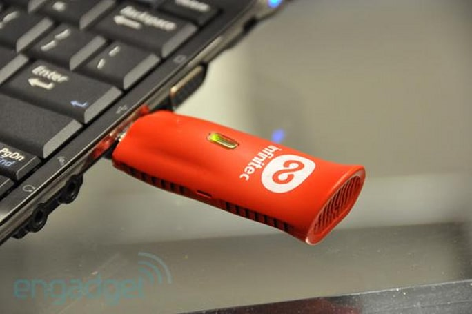 Exclusive: Infinitec demonstrates IUM ad hoc streaming device, makes it look like a flash drive