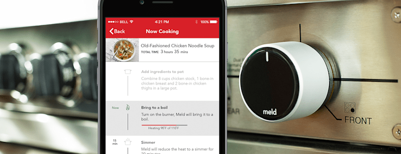 This smart knob upgrades your stove with automatic temperature controls