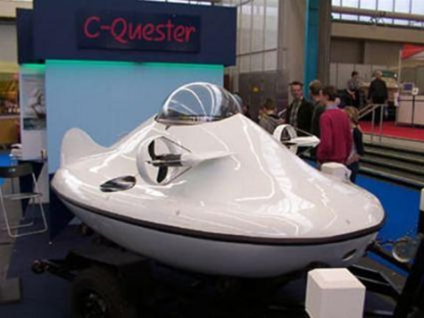 U-Boat Worx set to release CQ1 personal submarine