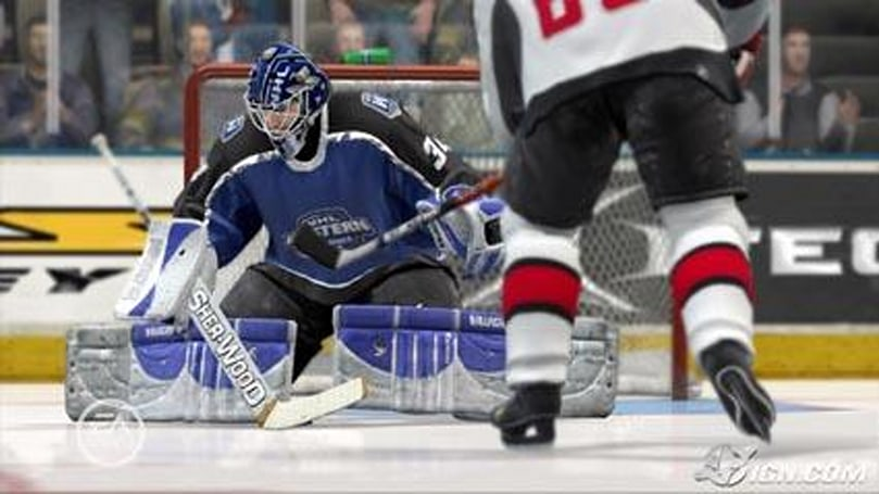 NHL 07 ready to shoot it out with 2K?