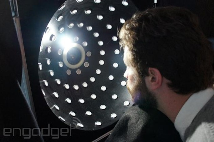 Relightable Dome creates interactive images where you control the light source