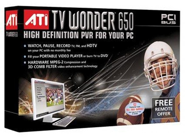 ATI TV Wonder 650 recalled?