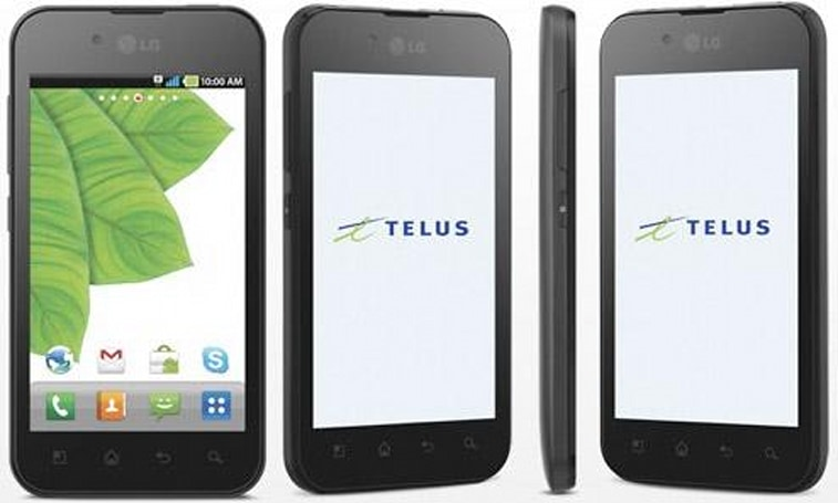 Telus gets cozy with Skype, announces Optimus Black 'Skype edition' for summer release