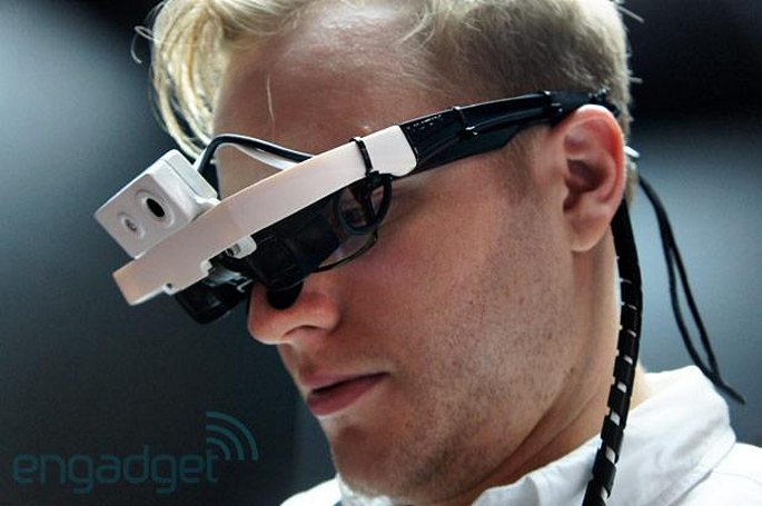 Japanese carrier DoCoMo demos 'Intelligent Glass' wearable at CEATEC 2013 (hands-on)