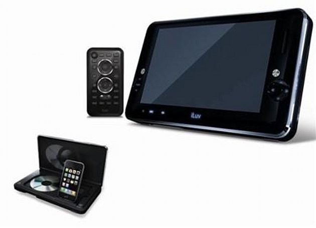 iLuv keeps it flowing with i1166 9-inch portable multimedia player