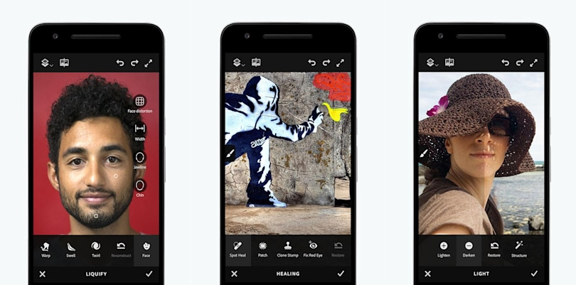 Adobe's powerful Photoshop Fix app finally arrives on Android