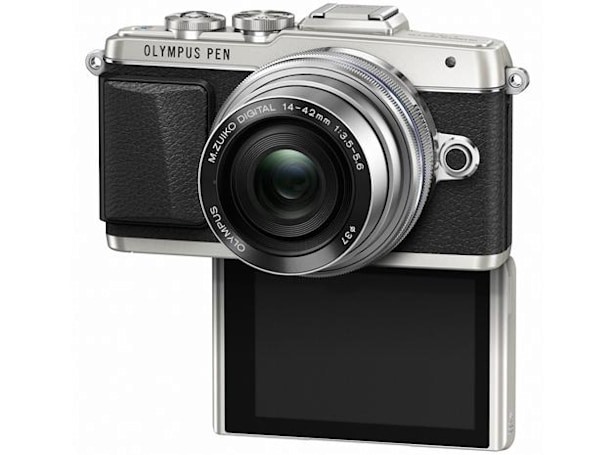 Olympus' newest mirrorless camera is built for selfies
