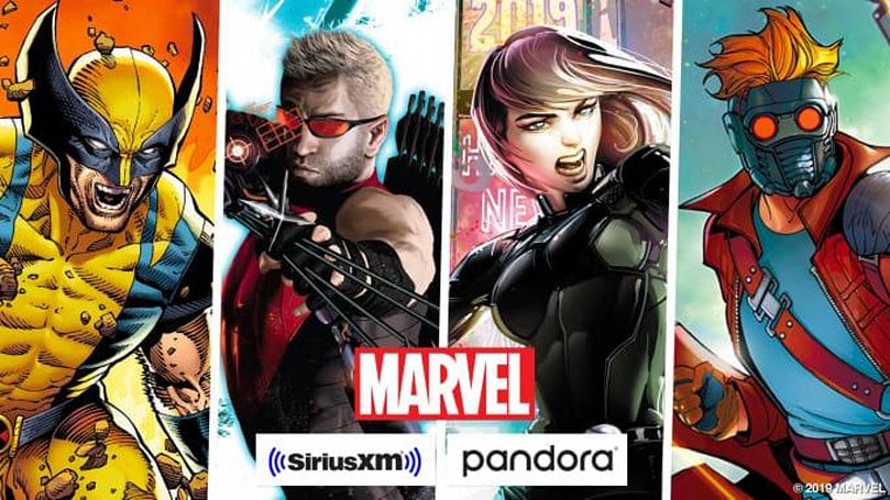 Marvel is working on a bunch of new podcasts for Pandora and SiriusXM