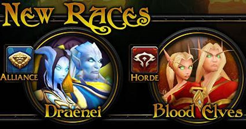 Blood Elf and Draenei Classes Revealed
