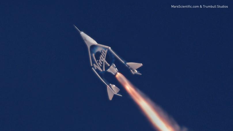 Watch Virgin Galactic Unity's second rocket-powered flight