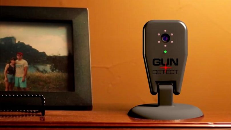 Smart camera warns you when guns enter your home